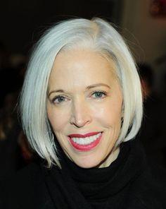 Flattering Bob Hairstyles for Older Women: Linda Fargo