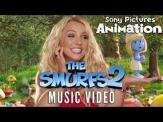 The Smurfs 2 - Britney Spears - Ooh La La Music Video - YouTube