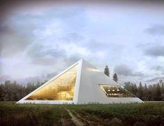 arquitetura casas pirâmide juan carlos ramos home design fotografia