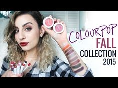 New ColourPop Fall Collection 2015 - YouTube