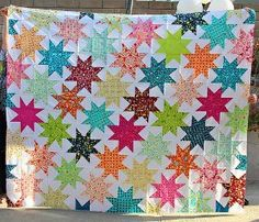 Penelope's Star Quilt | FaveQuilts.com
