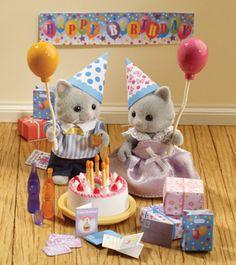 Sylvanian Families - Birthday Party