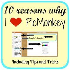 Jennifer's Jumbles: 10 Things... I Love About PicMonkey