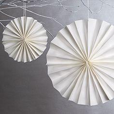 papperssolar pyssel papperspyssel bröllop ide inspiration tips papper