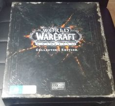 World of Warcraft Cataclysm Collectors Edition PC *NEW* FREE Postage