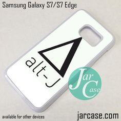 Alt-J Logo 3 Phone Case for Samsung Galaxy S7 & S7 Edge