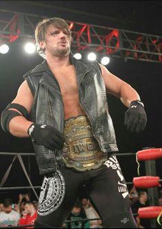 IWGP World Heavyweight Champion AJ Styles