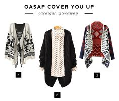 The Restless Mind: GIVEAWAY | OASAP CARDIGAN
