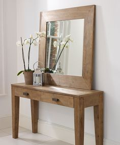 Manado mirror and console table from LomBok