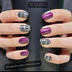 Halloween Nail Colors, Halloween Nails, Halloween 2020, Colorful Nail Designs, Cool Nail Designs, Gel Polish Colors, Nail Polish, Nail Color Combos, Sassy Nails