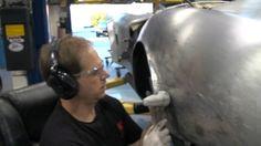 Kirkham University Aluminum Fender Dent Repair