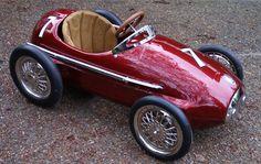 Vintage Maserati Formula One Racer - Custom Pedal Car 1