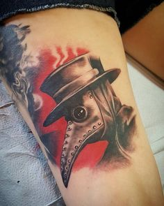 Plague Doctor by Aaron Is - Bloodline Tattoos - Ybor City FL