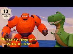 Big Hero 6 Baymax Action and Nursery Rhymes