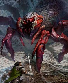 Artist: Svetlin Velinov  -  Giant Spider advanced  -  https://www.artstation.com/artist/velinov  -  http://velinov.deviantart.com/  -  http://conceptartworld.com/?p=6459  -  #SvetlinVelinov  -  #Velinov