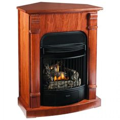 ventless fireplace natural gas. Corner natural gas fireplace Ventless Propane Fireplace with Mantel Surround  29 w x 37 h 14 d