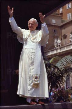 """Bild von James L. Stanfield - """"Papst Johannes Paul II"""""""