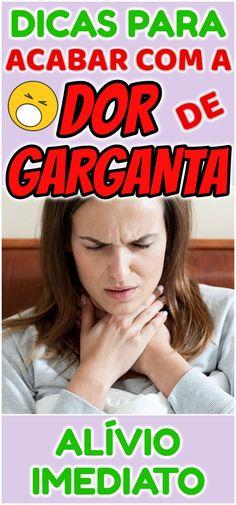 Maneiras Naturais de Reduzir a Dor na Garganta! Medicine, 1, Sore Throat Remedies, Body Fitness, Muscle Mass, Diet To Lose Weight, Lose Belly, Alternative Medicine, Chokers