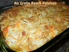 Augratin ranch patatoes