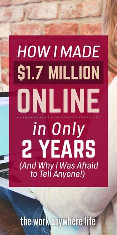 My First Income Report: How I Made $1.7 Million Online in Only 2 Years