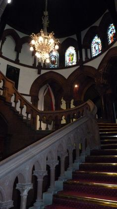 Chester Town Hall Stairway - Perfect for the entrance of a beautiful bride