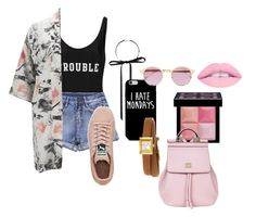 """I Knew You Were Trouble"" by brynap1 on Polyvore featuring ADRIANA DEGREAS, Forever 21, Vero Moda, Puma, Givenchy, Gucci, Sheriff&Cherry and Dolce&Gabbana"