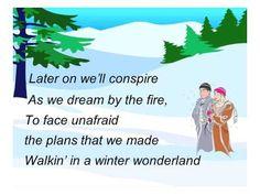 Winter Wonderland vocals w harmony - YouTube