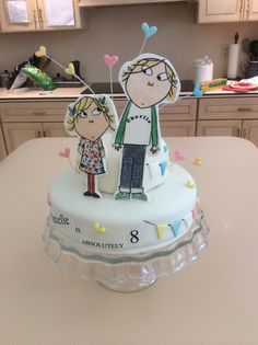 Charlie & Lola birthday cake