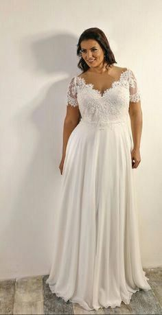 Plus Sized Wedding Dresses Fit And Flare Holiday Parties Plussizedweddingdressescinde Short Wedding Dress Bridesmaid Dresses Plus Size Plus Size Wedding Gowns