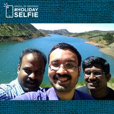 As summer seeps in, we refresh you with the winning selfies of the summertime. Unveiling the winners of ‪#‎holidayselfie‬ of this invigorating season. Today's winner: Joe M Das ‪#‎bagfulofmemories‬