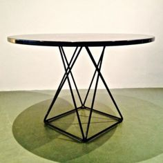 Located using retrostart.com > Dining Table by Unknown Designer for Thonet