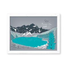 Original illustration by Gliniana Kura features ridge of Morskie Oko lake Tatra Mountains. size( 21 x cm) High quality offset print on mat paper 250 g Packed and shipped in cardboard tube. Sold without frame. A4 Poster, Posters, Mat Paper, Tatra Mountains, Offset Printing, Pack And Ship, The Originals, Night, Frame