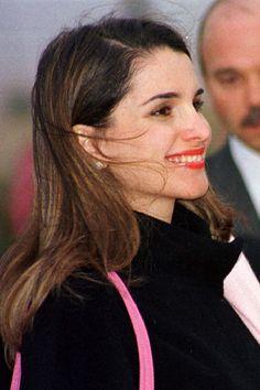 King Abdullah, Queen Rania, Prince, Chic, Paris, Hair, Elegant, Style