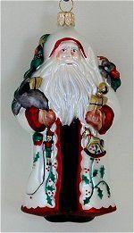 Santa Ornaments Blown Glass Christmas Ornaments, Santa Ornaments, Santa Christmas, Holiday Decor, Friends, Amigos, Boyfriends