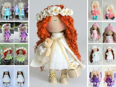 Hey, I found this really awesome Etsy listing at https://www.etsy.com/listing/384941600/curly-doll-fabric-doll-tilda-doll-red
