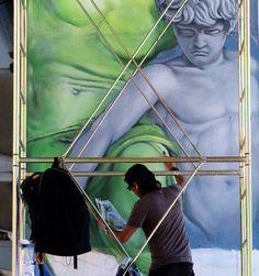 Surrealism, Contemporary Art, Street Art, Italy, Sculpture, Artwork, Painting, Instagram, Modern Paintings