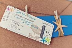 Destination wedding Save The Date, by @Alicia Rohan http://www.apdesignco.com/