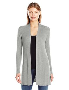 Women's Long Sleeve V Pointelle Back Cardigan Sweater.More info could be found at the image url.(This is an Amazon affiliate link and I receive a commission for the sales)