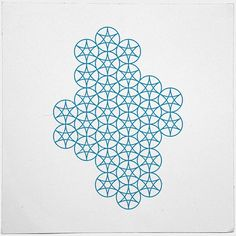 #431 Sea ripples – A new minimal geometric composition each day //// very cool pattern