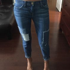 Current Elliot jeans Gently used worn mayb a handful of times size 26 Current/Elliott Jeans Ankle & Cropped