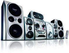 Philips DVD Mini Hi-Fi System / Tue 5.1 Surround Sound