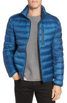 Michael Kors Nylon Down Fill Jacket available at #Nordstrom