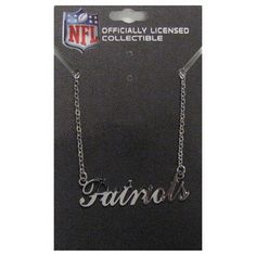 Love this Patriots necklace!
