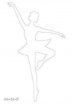 Creative Ideas - DIY Beautiful Snowflake Ballerinas from Templates 3