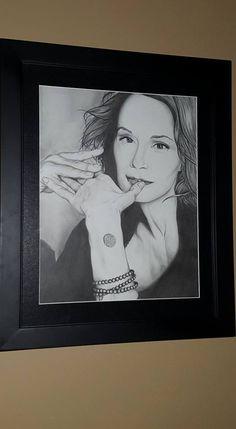 Brooke Massey's Jessica Lange sketch