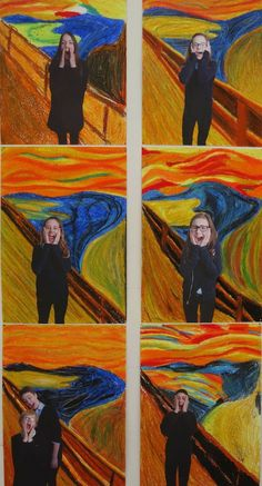 Creative talent at SASK! Art Education Lessons, Art Lessons, Middle School Art, Art School, Primary School Art, Atelier Photo, 5th Grade Art, Ecole Art, School Art Projects