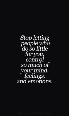 I'm learning this. Tired of doing so much and receiving nothing in return.