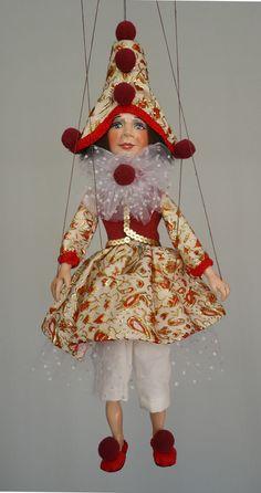 Colombina marionette