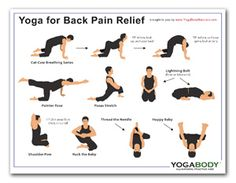 back pain yoga for and yoga on pinterest