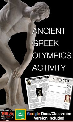 History Lesson Plans, Social Studies Lesson Plans, World History Lessons, Teaching Social Studies, Teaching History, Newspaper Article, Student Reading, Ancient Greek, Homework